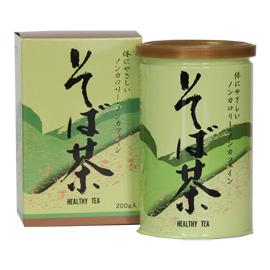 商品画像:そば茶(缶入り)