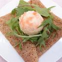 レシピ画像:タラモサラダのガレット