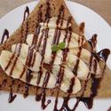 レシピ画像:チョコバナナガレット