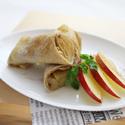 レシピ画像:信州りんごのコンポートガレット