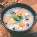 レシピ画像:そば米入り雑炊
