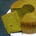 レシピ画像:そばの葉シフォン