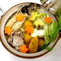 レシピ画像:もっちり!やわらか!味噌煮込みカボチャすいとん鍋