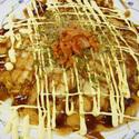 レシピ画像:ピリ辛!キムチお好み焼き