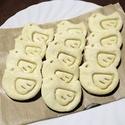レシピ画像:白いライチョウたち(スコーン)