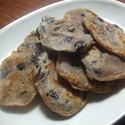 レシピ画像:黒豆薄焼き