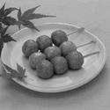 レシピ画像:そば団子