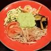 商品画像:小海老と夏野菜のずんだ蕎麦