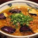 レシピ画像:茄子と豚肉のカレー南蛮そば