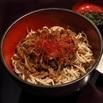 レシピ画像:信州原木舞茸とプレミアム牛の混ぜそば