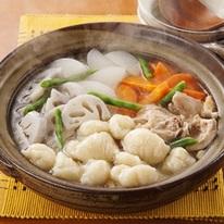 レシピ画像:点トリすいとん鍋