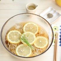 レシピ画像:簡単 時短 レモンそば