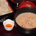 レシピ画像:鶏くるみ蕎麦