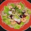 商品画像:キャベツと海の幸のサラダそば