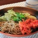 レシピ画像:香味野菜の冷やしぶっかけそば