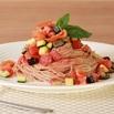 商品画像:信州サーモンと夏野菜の冷製そばパスタ