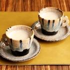レシピ画像:簡単!あったかそば茶ラテ