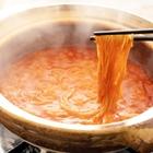 レシピ画像:別ゆで不要!鍋の〆にそばパスタ