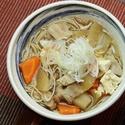 レシピ画像:たっぷり野菜の豚汁そば