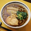 商品画像:豚角煮と玉子茶巾の温そば