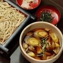 レシピ画像:牛すじと根菜のつけ汁せいろ