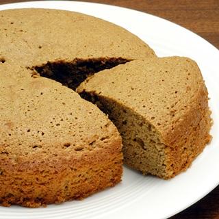 レシピ画像:そば粉のシフォンケーキ
