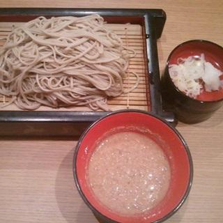 レシピ画像:くるみ汁セイロ