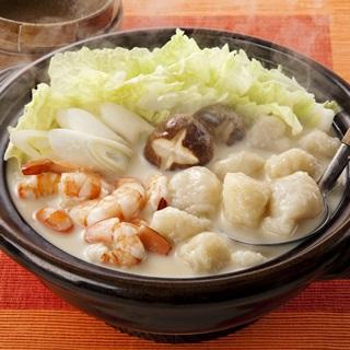 レシピ画像:豆乳すいとん鍋