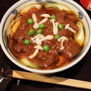 レシピ画像:鴨肉のハヤシ南蛮そば