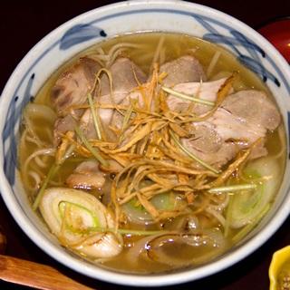 レシピ画像:豚味噌南蛮そば