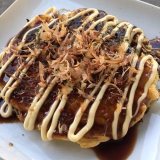 レシピ画像:お好み焼き(薄力粉レシピ)