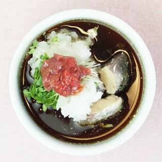 レシピ画像:変わりつゆだれ(サバと大根おろしの梅風味)