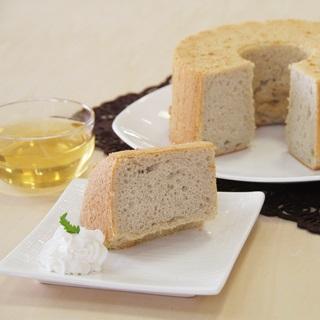 レシピ画像:小麦粉不使用のそば粉シフォンケーキ