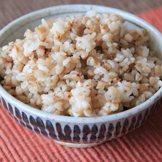 レシピ画像:そば米入りごはん