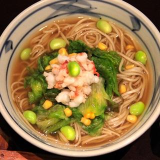 レシピ画像:冷製 海老塩そば