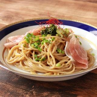レシピ画像:そばつゆが決め手! 和風カルボナーラ 信州仕立て