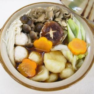 レシピ画像:きのこたっぷりすいとん鍋