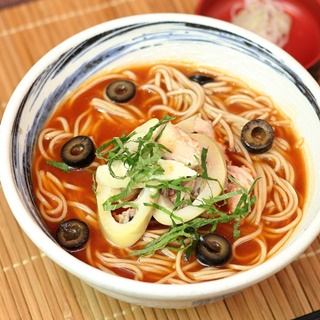 レシピ画像:トマト冷やかけそば