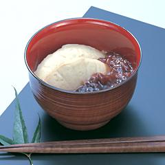 レシピ画像:蕎麦がきぜんざい