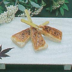 レシピ画像:そば米薄焼き