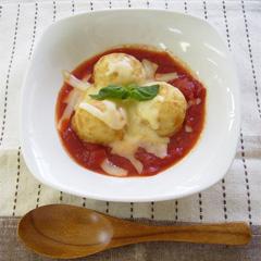レシピ画像:チーズとろ~り!イタリアンたこ焼き