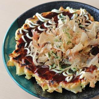 レシピ画像:お好み焼き(中力粉レシピ)